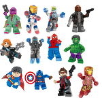 12 Piece Superhero Lego Inspired Building Set - $15 with FREE Shipping!