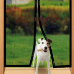Magic Mesh Hands-Free Screen Door- $11.50 with Free Shipping